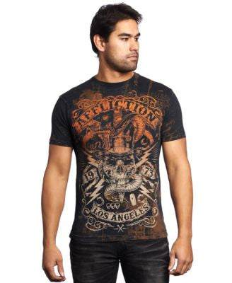 Affliction Men's Voodoo Man T-Shirt