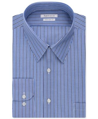 Van Heusen Indigo Stripe Dress Shirt