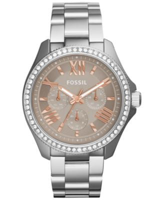 Fossil Women's Cecile Stainless Steel Bracelet Watch 40mm AM4628