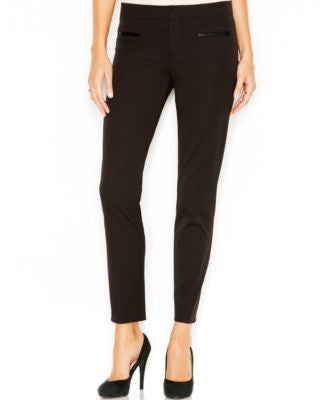 Sanctuary Faux-Leather-Trim Pants