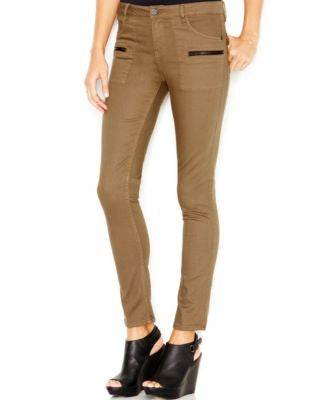 Sanctuary Zipper-Pocket Skinny Pants