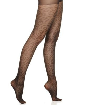 Berkshire Leopard Lace Tights 8806