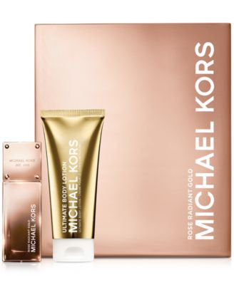 Michael Kors Rose Radiant Gold Gift Set