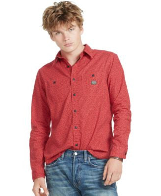 Denim & Supply Ralph Lauren Men's Buckthorn Cotton Workshirt
