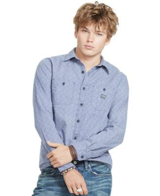 Denim & Supply Ralph Lauren Men's Tulip Cotton Workshirt