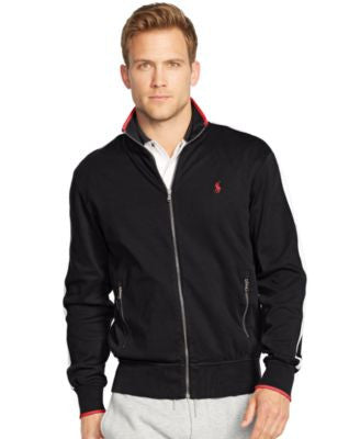 Polo Ralph Lauren Men's Full-Zip Interlock Track Jacket