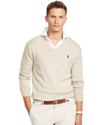Polo Ralph Lauren Pima V-Neck Sweater
