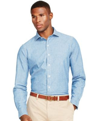 Polo Ralph Lauren Men's Chambray Estate Shirt
