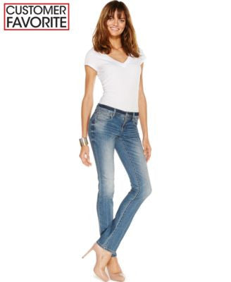 INC International Concepts Curvy-Fit Jeans, Monday Wash, Only at Vogily