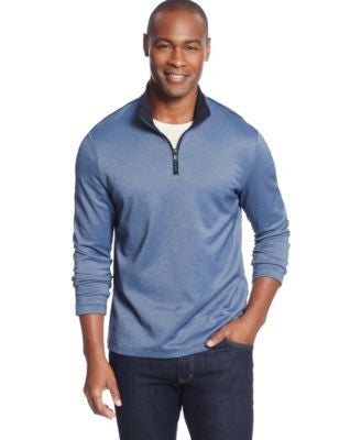 Alfani Quarter-Zip Pullover Sweater, Only at Vogily