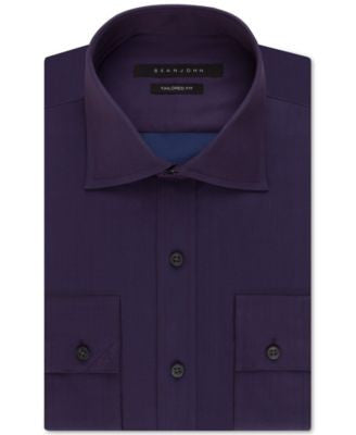Sean John Concord Solid Dress Shirt