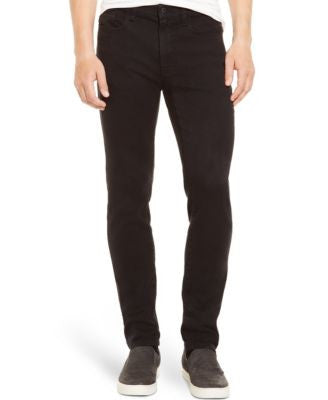 Kenneth Cole Reaction Men's Straight-Leg Black Rinse Jeans