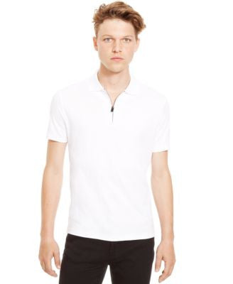 Kenneth Cole Reaction Quarter-Zip Polo