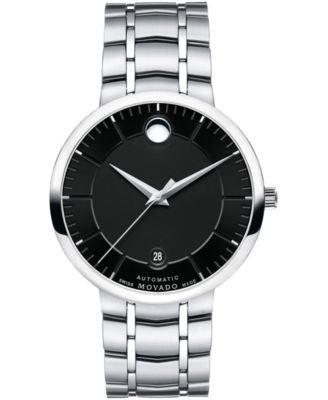 Movado Men's Swiss Automatic 1881 Automatic Stainless Steel Bracelet Watch 39mm 0606914