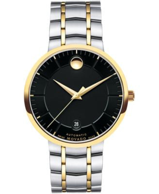 Movado Men's Swiss Automatic 1881 Automatic Two-Tone Stainless Steel Bracelet 39mm 0606916
