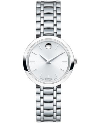 Movado Women's Swiss Automatic 1881 Automatic Stainless Steel Bracelet Watch 27mm 0606917