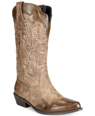 Dolce by Mojo Moxy Quiggly Western Cowboy Boots