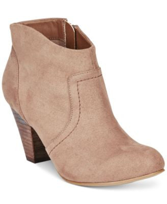 XOXO Aldenson Western Ankle Booties