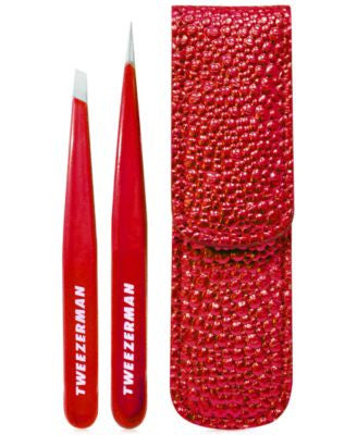 Tweezerman Candy Apple Red Petite Tweeze Set