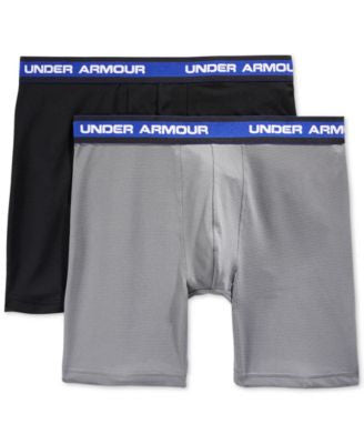 Under Armour Performance Mesh Boxer Briefs 2-Pack