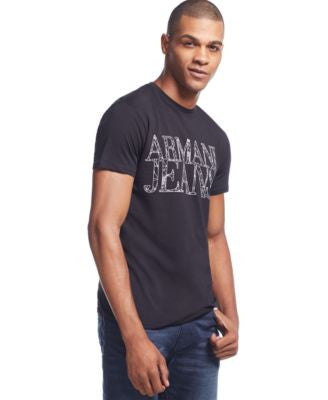 Armani Jeans Men's Logo-Graphic T-Shirt