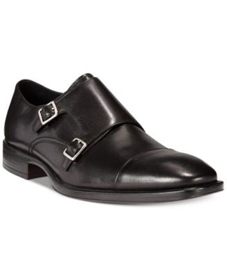 Johnston & Murphy Birchett Double Monk Strap Loafers