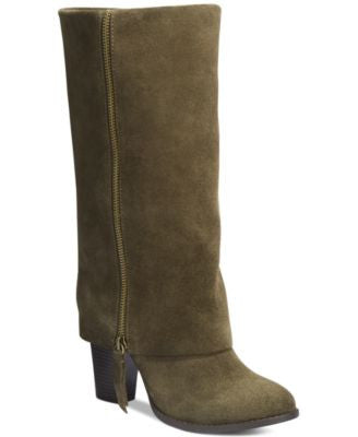 INC International Concepts Johannan Tall Cuff Boots, Only at Vogily
