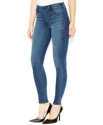 True Religion Medium Waves Wash Pull-On Runway Leggings
