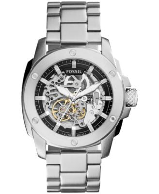 Fossil Men's Automatic Modern Machine Stainless Steel Bracelet Watch 50mm ME3081