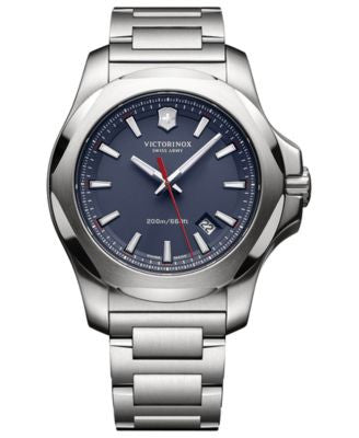 Victorinox Swiss Army Men's I.N.O.X. Stainless Steel Bracelet Watch 43mm 241724.1