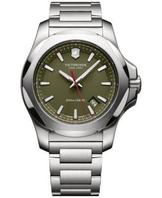 Victorinox Swiss Army Men's I.N.O.X. Stainless Steel Bracelet Watch 43mm 241725.1