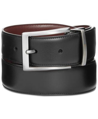 Perry Ellis Men's Leather Belt