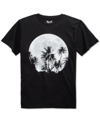 Univibe Tropical Moon Graphic T-Shirt