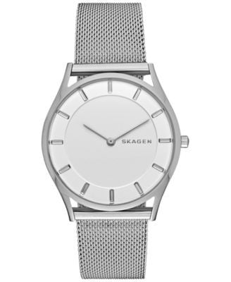 Skagen Women's Holst Stainless Steel Mesh Bracelet Watch 34mm SKW2342
