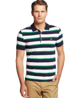 Lacoste Pique Striped Polo