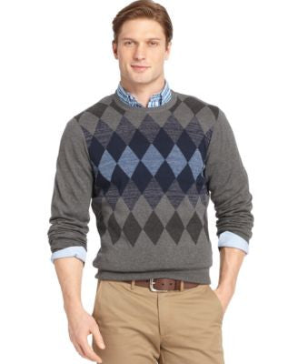 IZOD Centered Diamonds Sweater