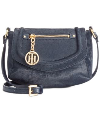 Tommy Hilfiger Jerry Calf Hair Small Crossbody