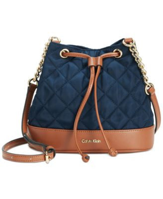 Calvin Klein Dressy Nylon Quilted Crossbody