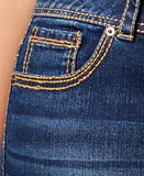 American Rag Plus Size Slim Bootcut Jeans, Betsy Wash, Only at Vogily