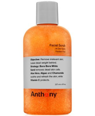 Anthony Facial Scrub, 8 oz
