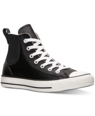 Converse Women's Chuck Taylor Chelsee Leather Casual Sneakers from Finish Line