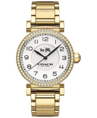 COACH WOMEN'S MADISON GOLD-PLATED STAINLESS STEEL BRACELET WATCH 32MM 14502397
