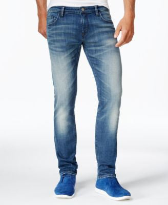 Hugo Boss Orange 71 Extra Slim Fit Jeans, Faded Wash