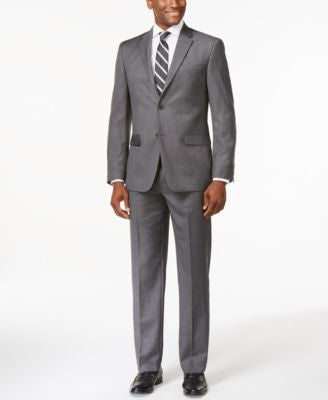 Tommy Hilfiger Slim-Fit Grey Suit Separates