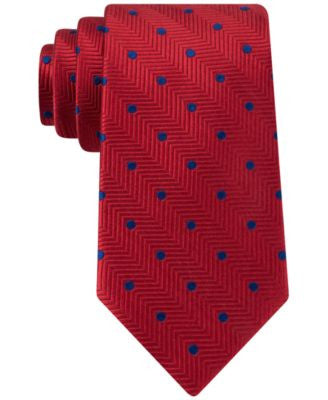 Peter Thomas Exploded Chevron Dot Tie