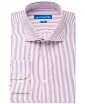 Vince Camuto Slim-Fit Rioja Satin Stripe Dress Shirt