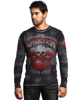 Affliction Men's Checkpoint Thermal