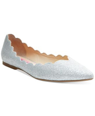Betsey Johnson Crosbey Scalloped Flats