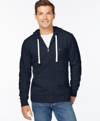 Tommy Hilfiger Big and Tall Men's Plains Drawstring Hoodie