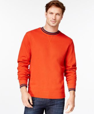 Cutter & Buck Men's Big and Tall Heritage Crew-Neck Sweater
